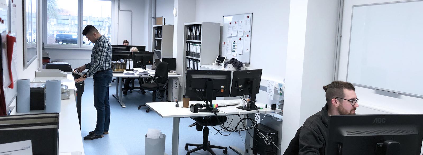 Verwaltung bei DSI-pharm