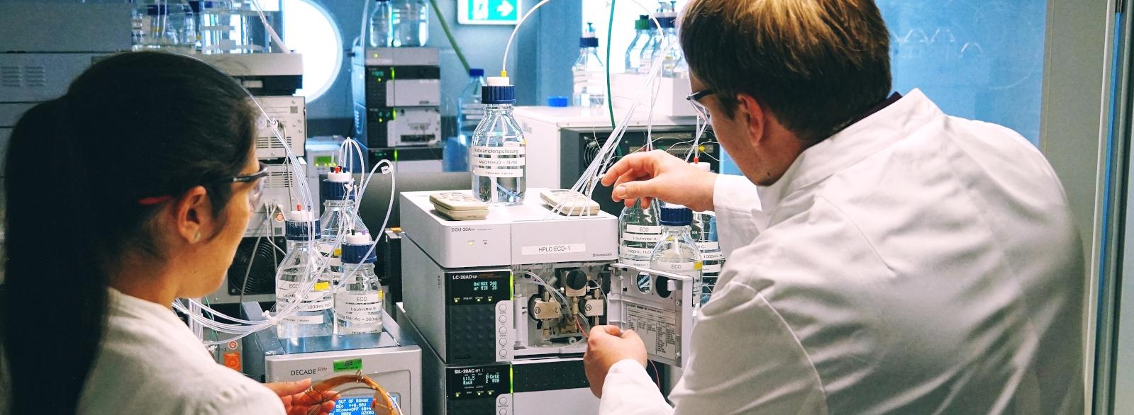 Karriere bei DSI-pharm, Labor für pharmazeutische Analysen